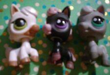 Littlest Pet Shop Lot Of 3 Ponies Cute(G)