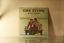 THE STING - SCOTT JOPLIN SOUNDTRACK - MCA 1974 IN SHRINK VINYL LP -C