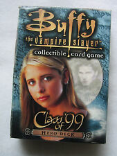 Buffy the Vampire Slayer Class of '99 Hero Deck Collectible Card Game New
