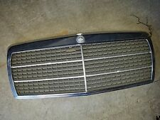 Mercedes Benz 190E 190D W201 Genuine Hood Chrome Grille 84-93 OEM Used