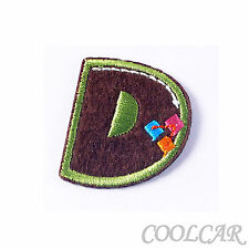 DIY Embroidered Motif Cloth Applique Iron On Patch Sew Clothing Decorations #D