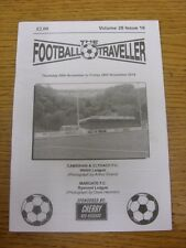 20/11/2014 The Footballer Traveller: Vol 28 Issue 16 - Cambrian & Clydach & Marg