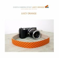 Ciesta Juicy Orange Blue Camera Strap for DSLR Mirrorless Camera New