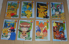 Japanese Pokemon Bandai 1998 Carddass Anime Collection Part 1 Complete Set