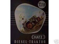 Älteres Blechschild Hatz Diesel Schlepper Traktor Reklame Werbung gebraucht used