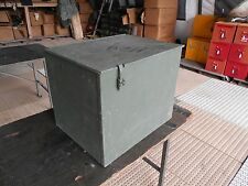 MILITARY SURPLUS TRUCK TRAILER STORAGE CONTAINER CASE  22x17x18 BOX TOOL ARMY
