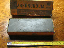 CARBORUNDUM  BRAND  SHARPENING  STONE  122  MEDIUM  6 X 2 X 1