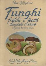 Atlante di funghi freschi e secchi: guida pratica all'ispezione annonaria dei fu