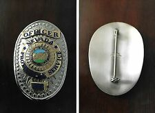 Nevada Protective Service Officer,  antique police badge