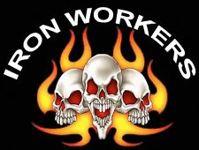 HARD HAT STICKERS,  IRON WORKER CIW-1