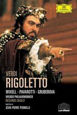 """LUCIANO PAVAROTTI """"VERDI: RIGOLETTO (GA)"""" DVD NEW+"""