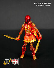 1/18 3.75 inches FIGURE - BOSS FIGHT STUDIOS VITRUVIAN HACKS - Helios Warrior