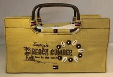 Tommy Hilfiger, Tommy's Beach Comber Jute Bag, Purse