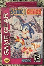 Sonic Chaos (Sega Game Gear, 1993) BRAND NEW SEALED - FREE U.S. SHIPPING