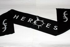 HEROES Science Fiction TV SERIES Helix Logo SPORTS SOCCER SCARF Black 8 x 56 New