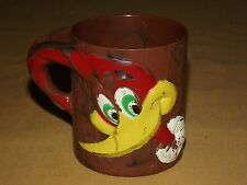 VINTAGE CARTOON ROAD RUNNER PLASTIC MUG CUP