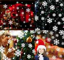 14PCS Christmas Snow Flake Removable Art Vinyl Window Door Sticker Wall Decor