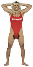 ANITA WAXIN lifeguard unitard humorous beaver funny adult mens halloween costume