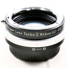 Zhongyi Focal Reducer Booster Turbo II Nikon F Lens to Fujifilm Adapter X-T1 E2