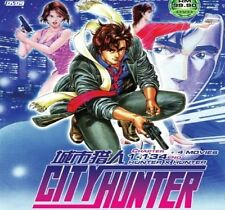 DVD City Hunter (TV 1 - 134 End) + 4 Movies DVD + Free Mystery Gift