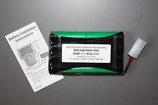 OTC Genisys Rechargeable Battery Pack 2600mAh 9.6v NiMH XL Capacity Solarity EVO