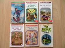 CHOOSE YOUR OWN ADVENTURE LOT 6~Which Way Books~Montgomery~LAST RUN~AMAZON~MARDI