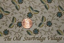 """""""OLD STURBRIDGE VILLAGE"""" REPRODUCTION QUILT FABRIC BY THE YARD MARCUS 2938-0150"""