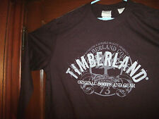 Timberland t-shirt long sleeve cranberry red ORIGINAL BOOTS AND GEAR size XL NEW