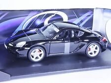 TC01 NEW Porsche Cayman S Sport Coupe 1:18 1/18 Black Diecast Car Model Maisto