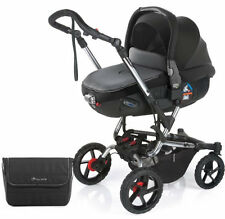 Nuevo Jane Crosswalk Pushchair Negro Con Matrix Light 2 capazo Bolsa & protector contra la lluvia