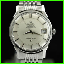 VINTAGE OMEGA 168005 PIE PAN DIAL CONSTELLATION CHRONOMETER SS AUTO MENS WATCH