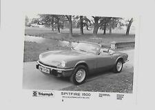 "TRIUMPH Spitfire 1500 PRESS PHOTO DIC. 1974 per 1975 ""BROCHURE connesso"""