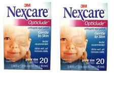 3M NEXCARE OPTICLUDE JUNIOR 1537 Orthoptic Eye Patch 2 Box 40pcs, 6.2 * 4.6 cm