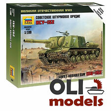 1/100 WW2 Soviet Heavy Assault Gun ISU-152 - Art of Tactic - Zvezda 6207