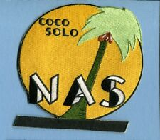 NAS NAVAL AIR STATION COCO SOLO PANAMA CANAL ZONE US NAVY Base Squadron Patch