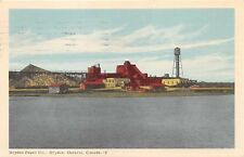 DRYDEN ONTARIO CANADA DRYDEN PAPER COMPANY~WATER VIEW POSTCARD 1955