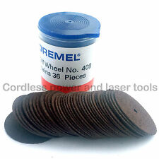 Dremel 409 36x 24mm 0.64mm Metal Cutting Cut-Off Wheels High Speed Rotary Tools
