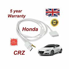 Original Honda Crv Iphone 3gs 4 4s Ipod Usb Y 3.5 mm Cable Aux Reemplazo Blanco