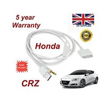 Genuine Honda CRV iPhone 3GS 4 4S  iPod USB & 3.5mm Aux Cable replacement White