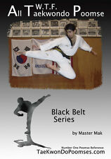 All WTF Tae Kwon Do Black Belt Poomse Forms DVD NEW