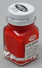 Testors 1/4 oz Red Gloss Enamel Paint 1103