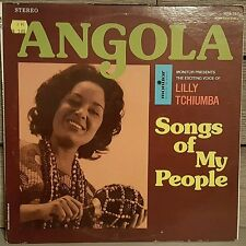 Angola Monitor MFS 767 Lilly Tchiumba Songs of My People Music From Africa Rare
