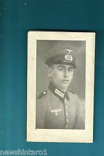 #H226. WWII  GERMAN FUNERAL CARD