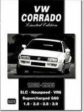 THE VOLKSWAGEN VW CORRADO LIMITED EDITION  BROOKLANDS Car Book  jm