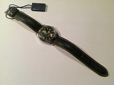 Nuevo - Reloj Watch Montre U.S. POLO ASSN. Sport Black Steel Leather 34 mm - New
