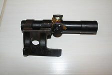 Original Russian Mosin-Nagant 91/30 PU (SVT) Sniper Scope 1943 WWII MOUNT FOGGY