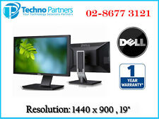 Dell P1911 Wide Screen LCD Monitor Display Resolution 1440 x 900 1Yr Waranty LED