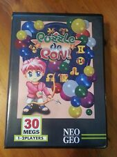 NEO GEO MVS Game Cartridge - Puzzle De Pon Japan Import With Case