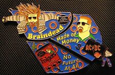 Big Lebowski Phish Music Festival Hat Pin - AC/DC Bag - 3 pin set