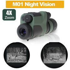 4x50mm Night Vision Built in Infrared IR Monocular Binocular 250m Scope